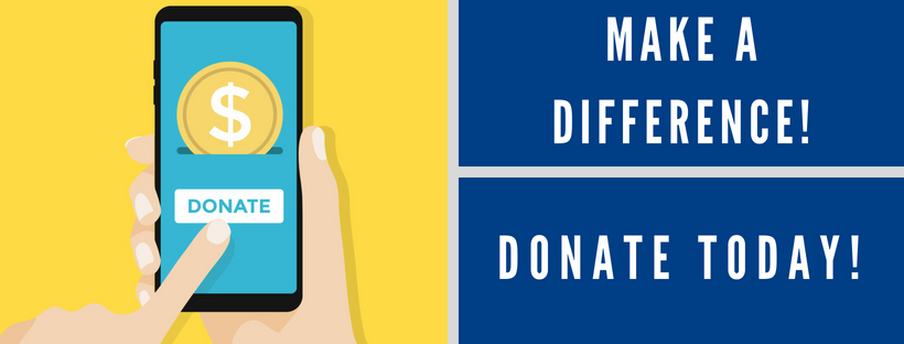 Donate today banner