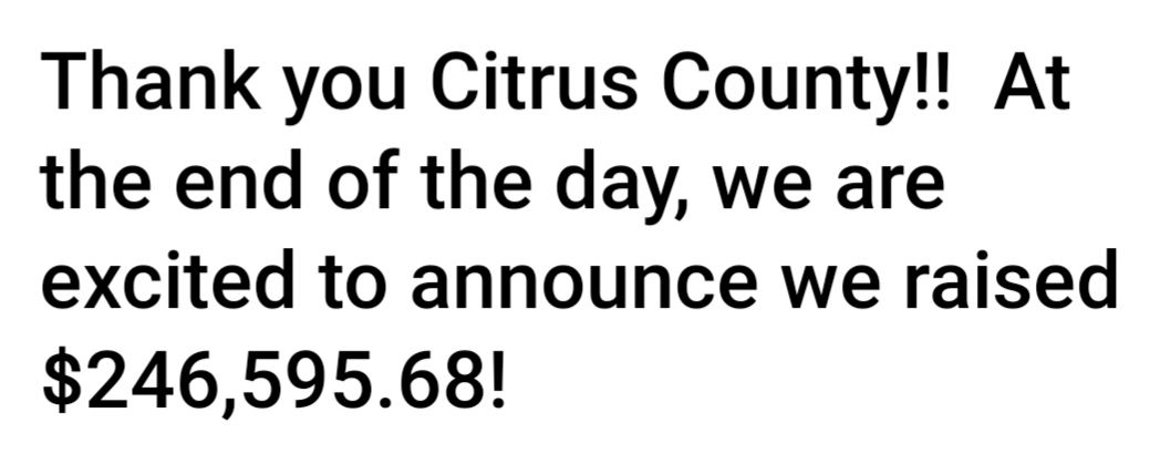 Thank You Citrus County